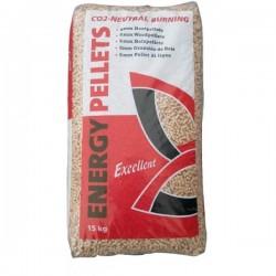 TESTZAK 15kg Excellent pellets 100% naaldhout