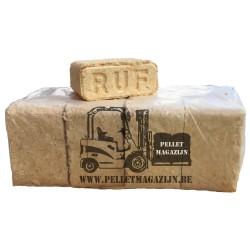 Echte RUF mix houtbriketten Pallet 960kg OP IS OP